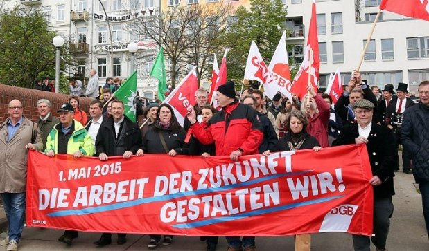 تظاهرات اول ماه مه در آلمان