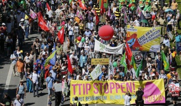 چنین تظاهرات گسترده ای در سالهای گذشته در مونیخ نظیر نداشته است
