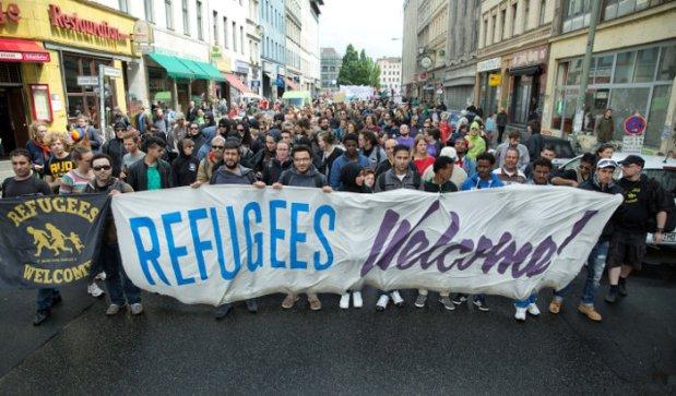 پناهندگان خوش آمیدید