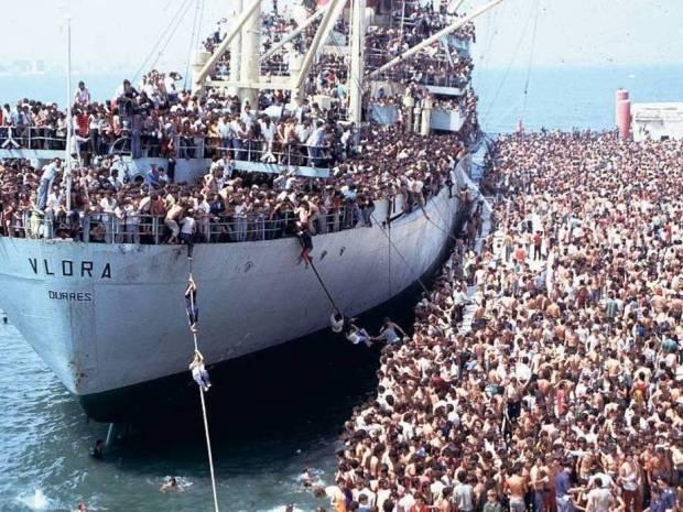 fluechtlinge1انبوه پناهجویان
