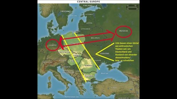 snapshot نقشه آمریکا قطع رابطه میان روسیه و آلمان